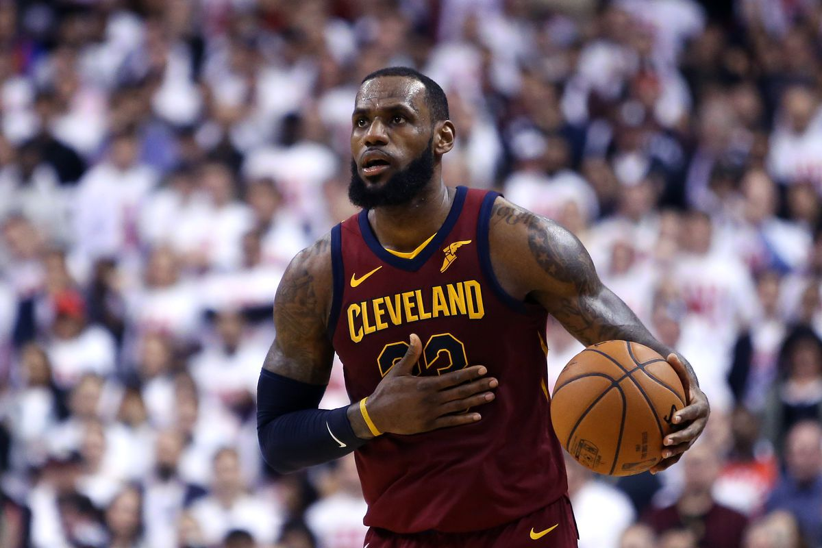 55d74eb1749 NBA Playoffs 2018: LeBron James proves once again why you shouldn't ...