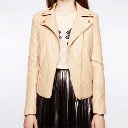 """J'adore Quilted Jacket, <a href=""""http://www.pixiemarket.com/outerwear/j-adore-quilted-jacket.html"""">$75</a> at Pixie Market"""