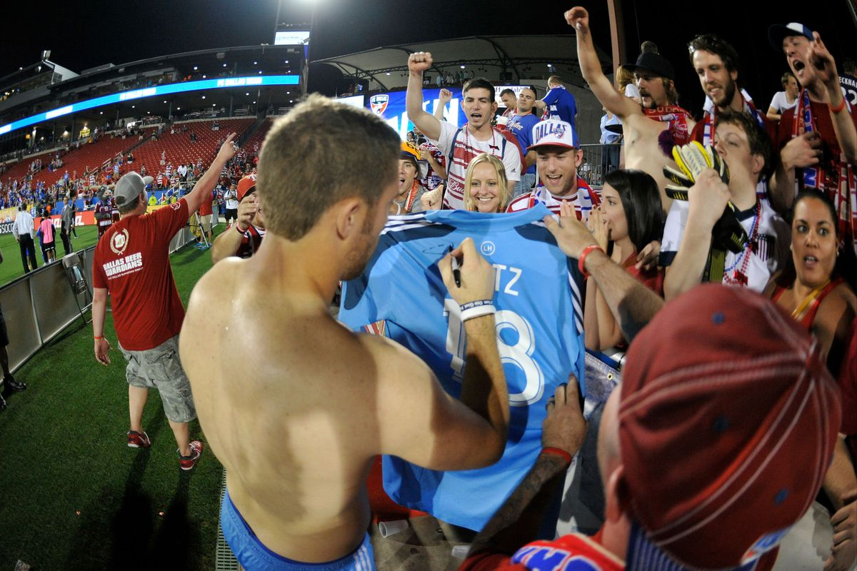 Chris Seitz signs autographs after a 2-1 victory the last time these two teams met.
