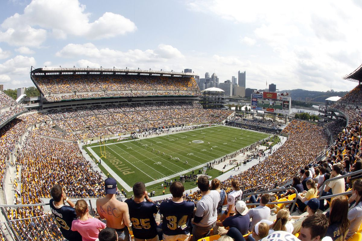With Heinz Field rarely being this full, just how big of a home field advantage do the Panthers have on any given Saturday?