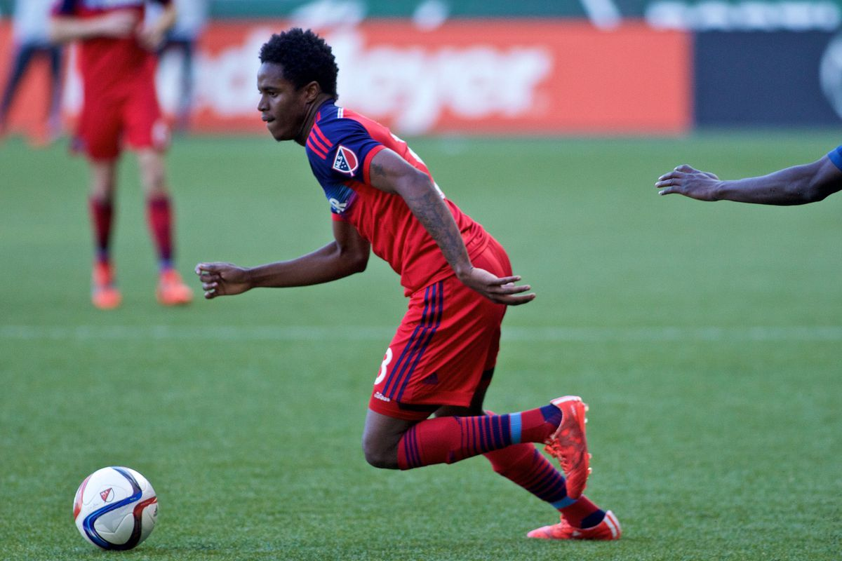 Joevin Jones has been one of the surprises of preseason, locking down a starting slot at left back.