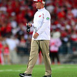 Wisconsin head coach Gary Andersen.