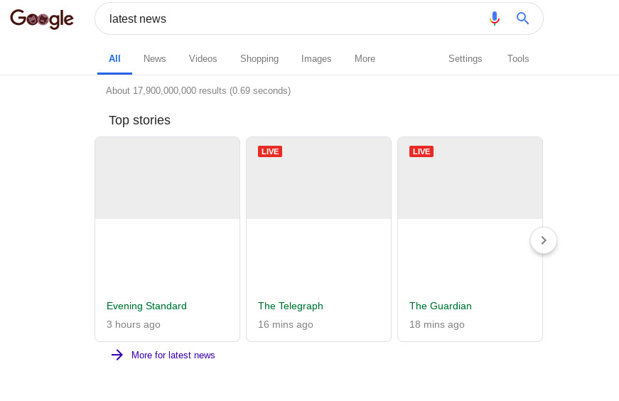 This is what Google says search will look like under EU