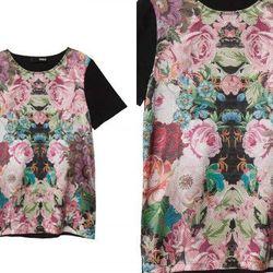 "<b>Nicholas</b> Print Silk T-Shirt, <a href=""http://otteny.com/print-silk-t-shirt.html"">$250</a> at Otte"