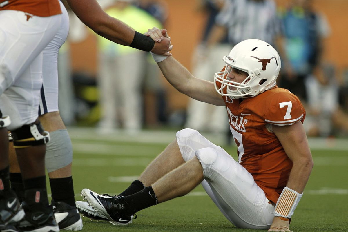 Garrett Gilbert Transferring From Texas Could Smu Be A Destination Sbnation Com