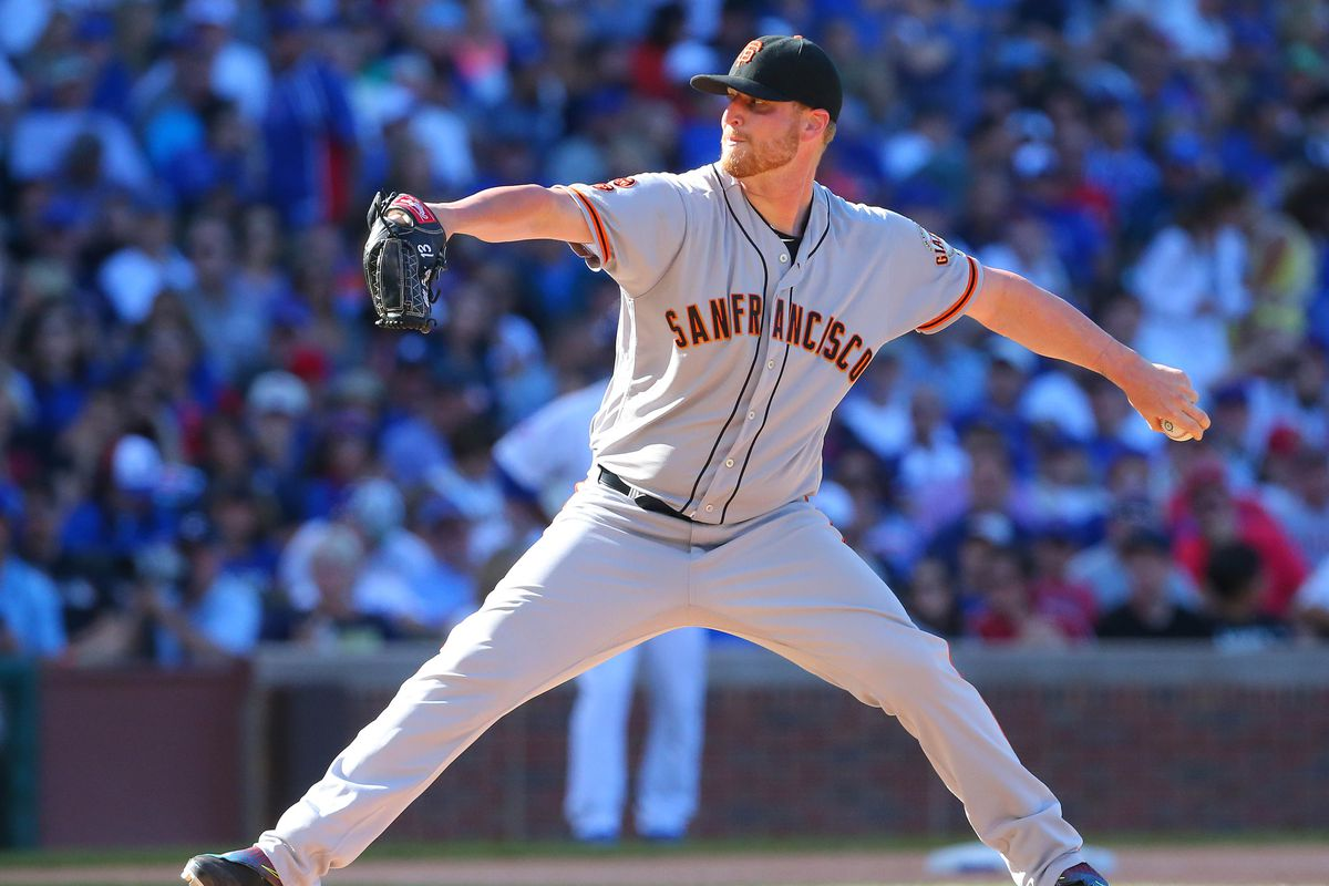 MLB: San Francisco Giants at Chicago Cubs