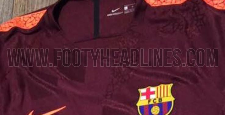 d55dae64d New pictures of Barcelona s 2017-18 third kit leaked - Barca Blaugranes