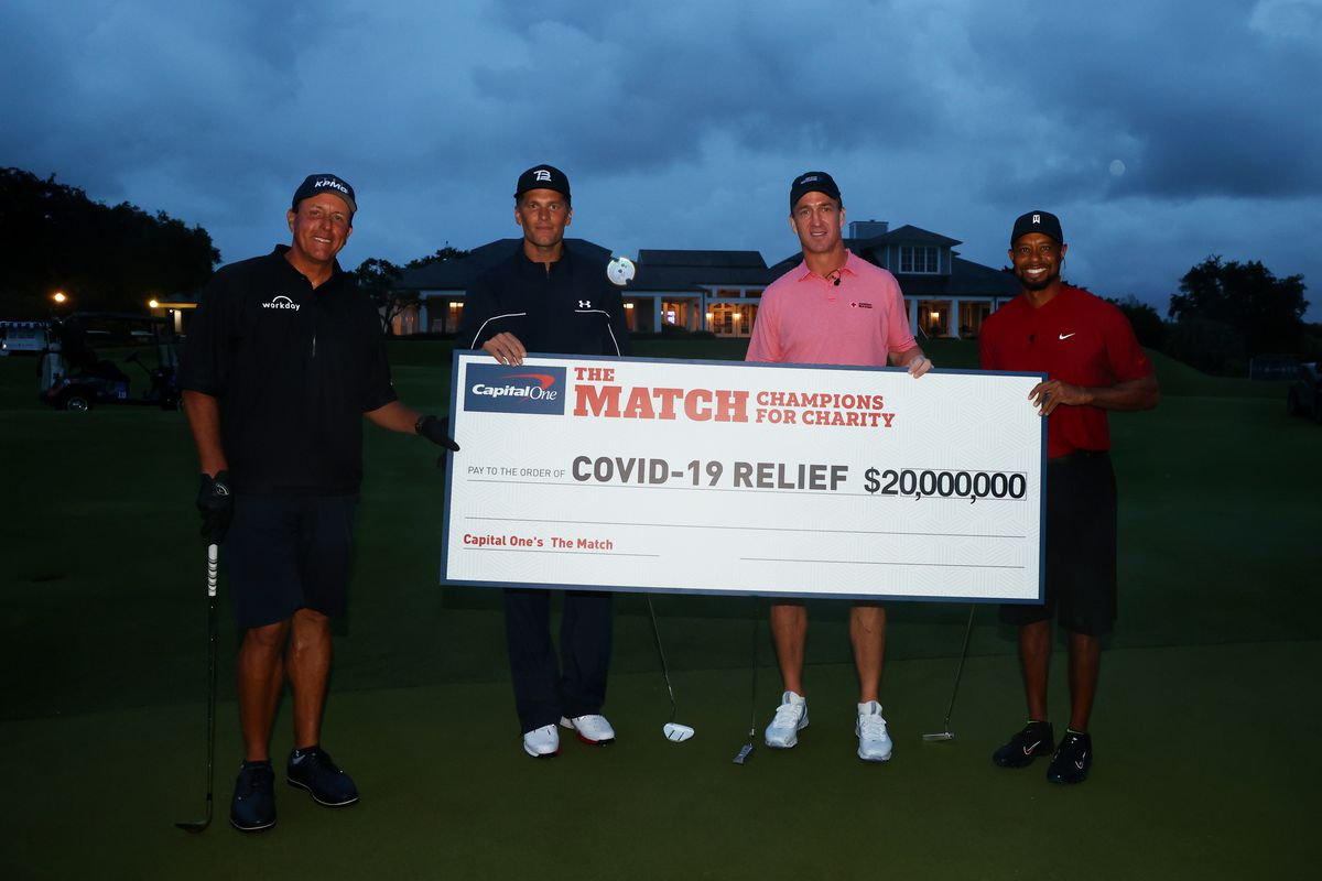 Tiger Woods Tom Brady Celebrity Golf Match Breaks Cable Tv Ratings Record Chicago Sun Times