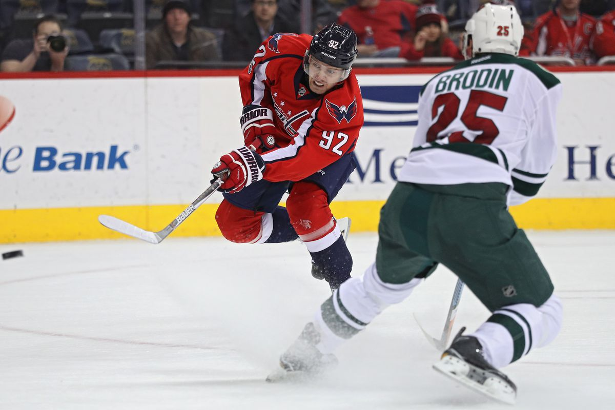 bd27cf532cd Friday Caps Clips  Capitals vs. Wild Game Day - Japers  Rink