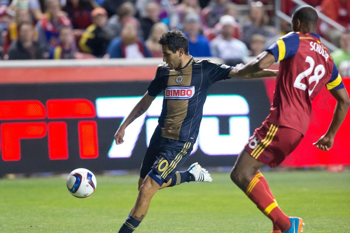 Maidana leads MLS with 8 key passes so far this season.