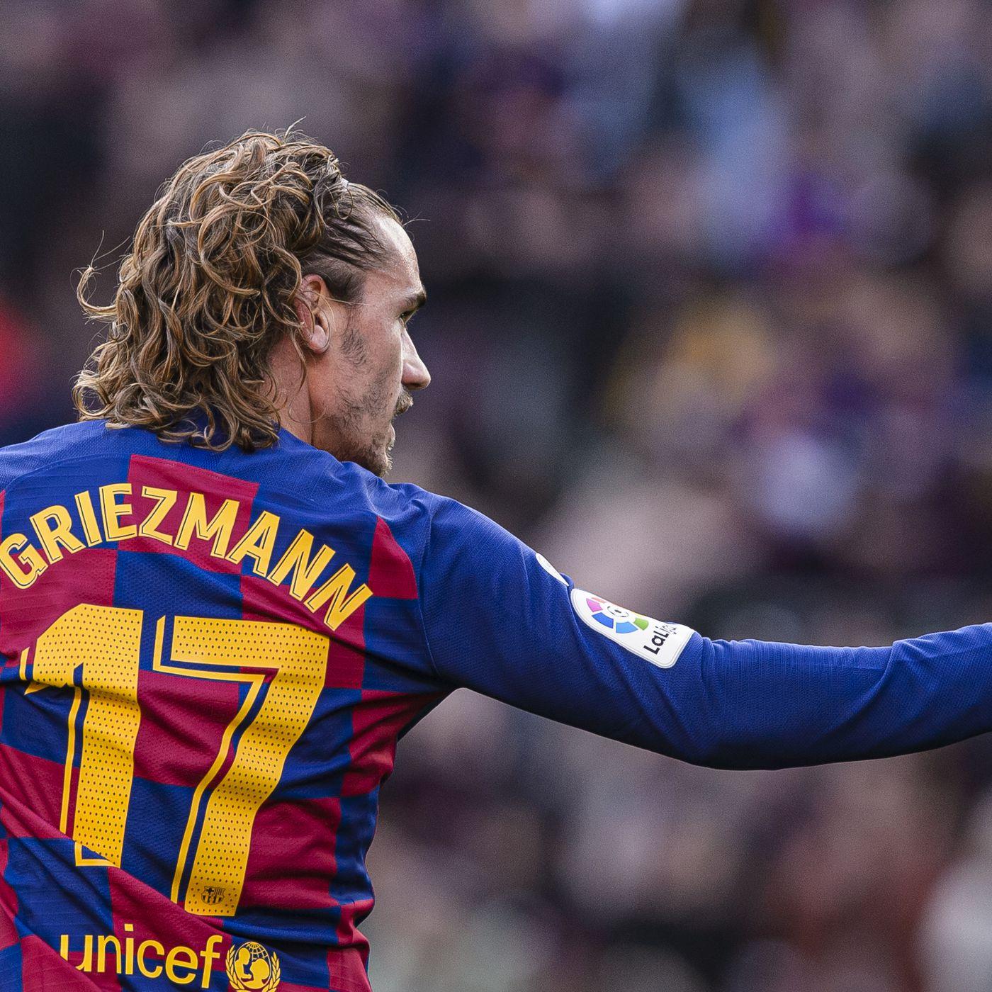 Antoine Griezmann Handed No 7 Shirt At Barcelona Barca Blaugranes