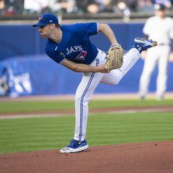 Ross Stripling, Blue Jays starting pitcher on Tuesday