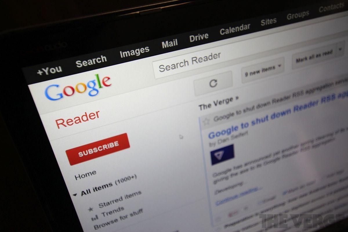 Google Reader stock 1020