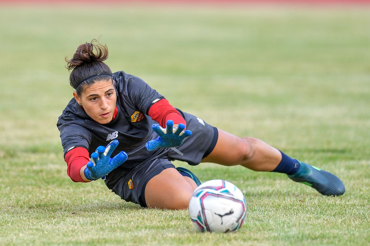 As Roma Women's Training