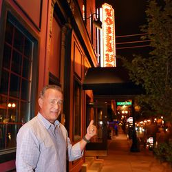 Actor Tom Hanks gives props to Rosebud in Little Italy.  | Provided photo