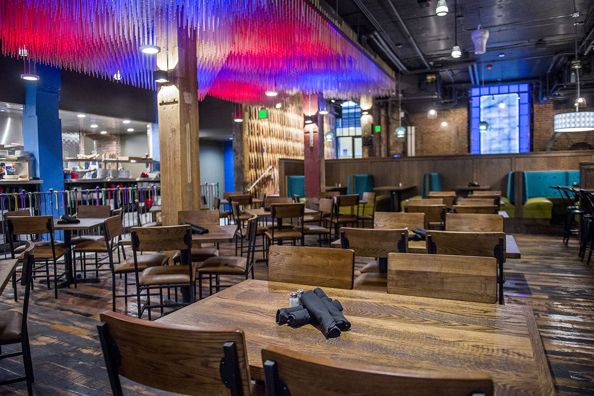 Music Touches Abound At The New Lodo Oskar Blues Grill Brew Market And 16th Streets Jonathan Phillips