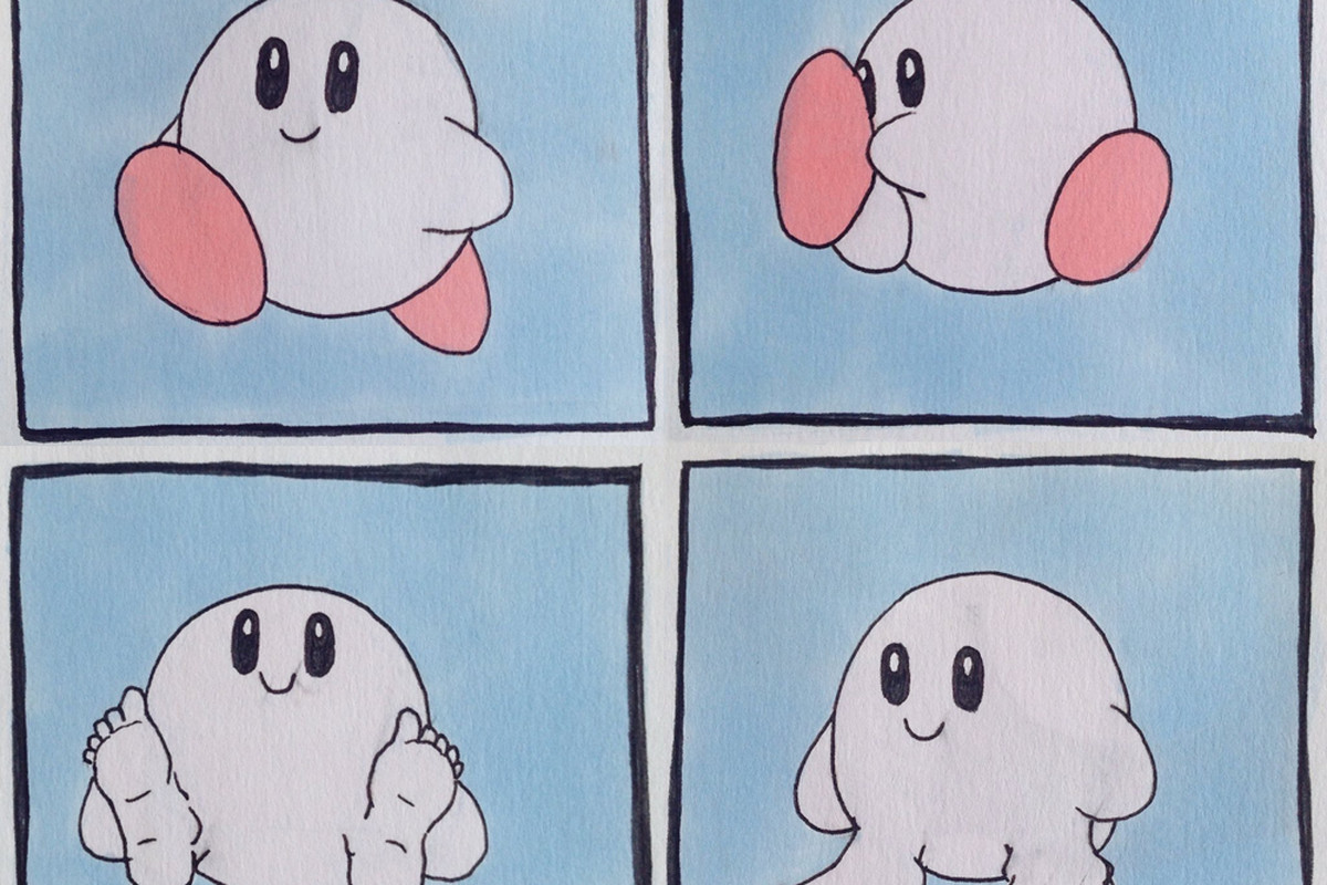 Create A Kirby Character Noll: Kirby With Human Feet Was Always Designed To Disturb You