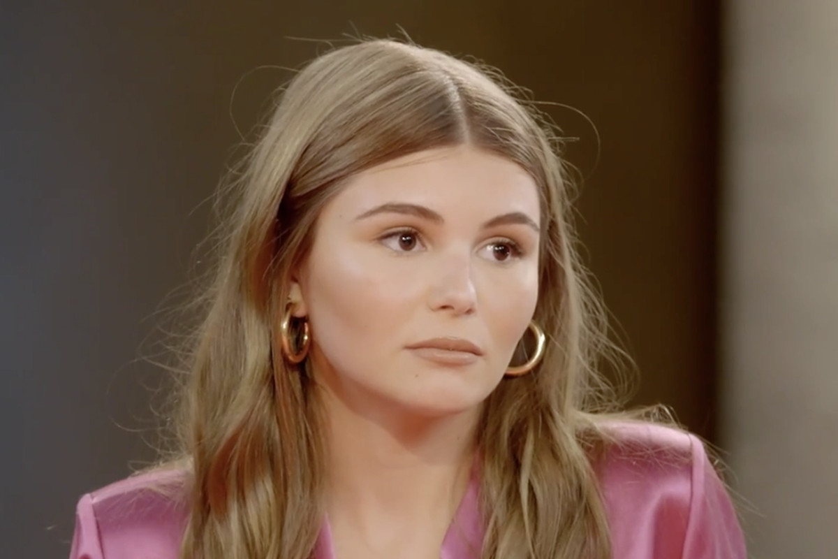 """Olivia Jade Giannulli broke her silence on the latest episode of """"Red Table Talk""""with hosts Jada Pinkett Smith, Willow Smith and Adrienne Norris."""