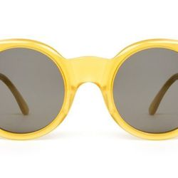 """<b>Zac Posen x Illesteva</b> blonde sunglasses, <a href=""""http://www.openingceremony.us/products.asp?menuid=2&catid=14&subcatid=73&designerid=1488&productid=62806"""">$300</a> at Opening Ceremony"""