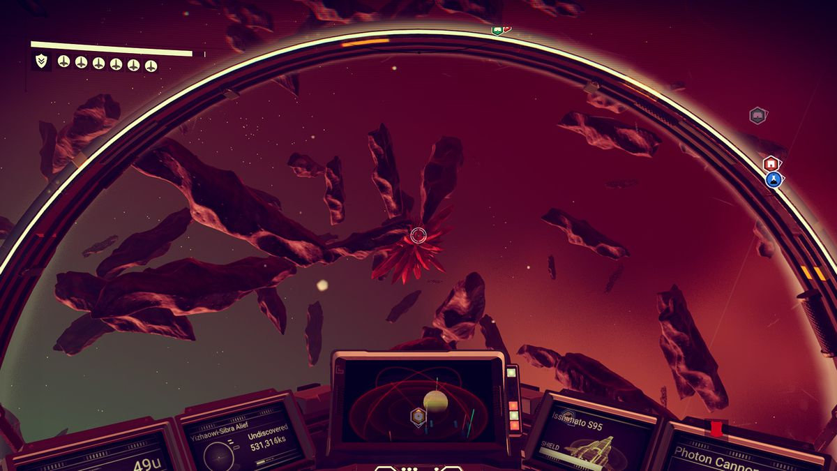 No Man's Sky Foundation Update - asteroids and mineral crystals