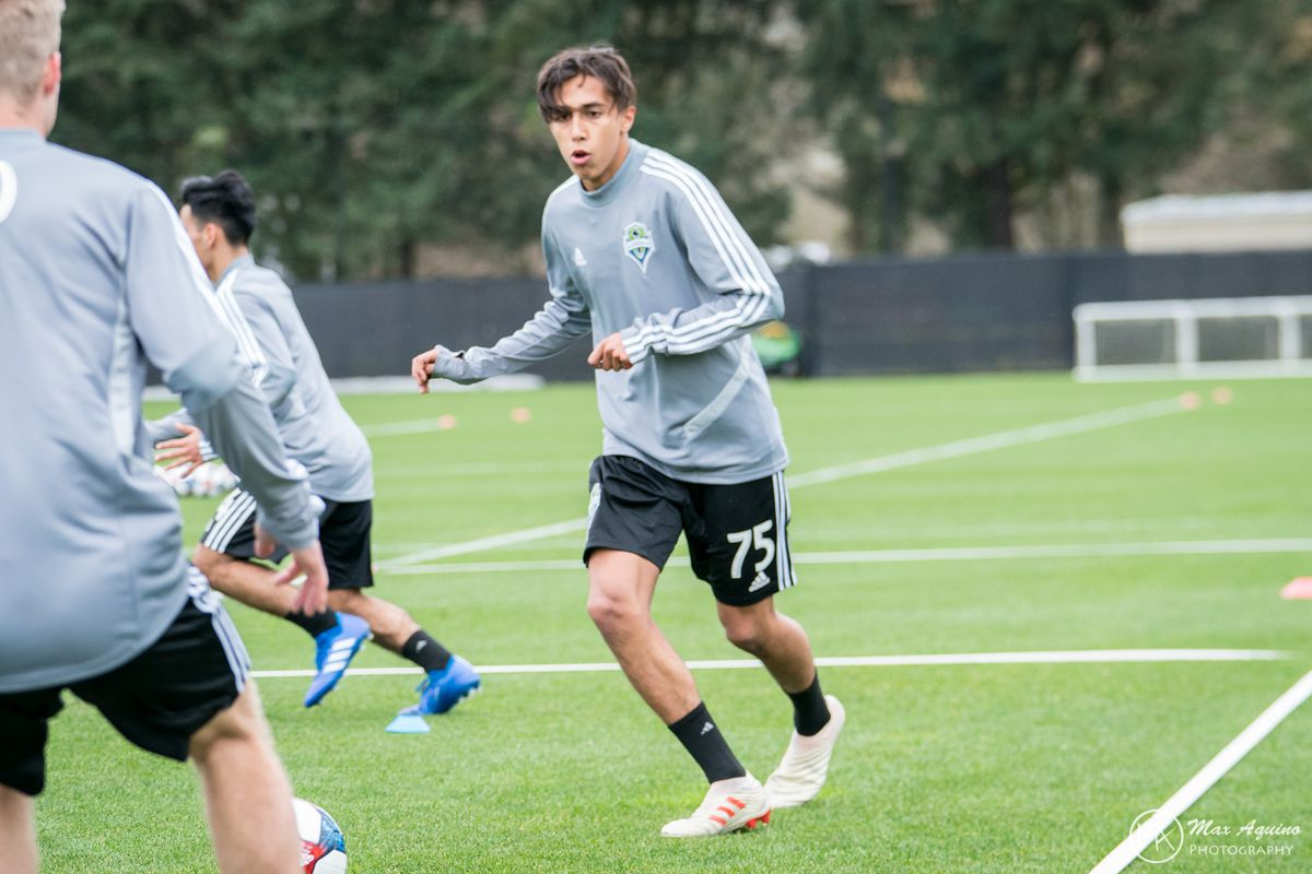 Danny Leyva has trained extensively with the first team this preseason.