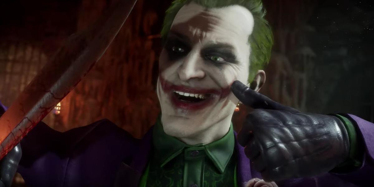 The Joker brings a bag of deadly surprises to Mortal Kombat 11