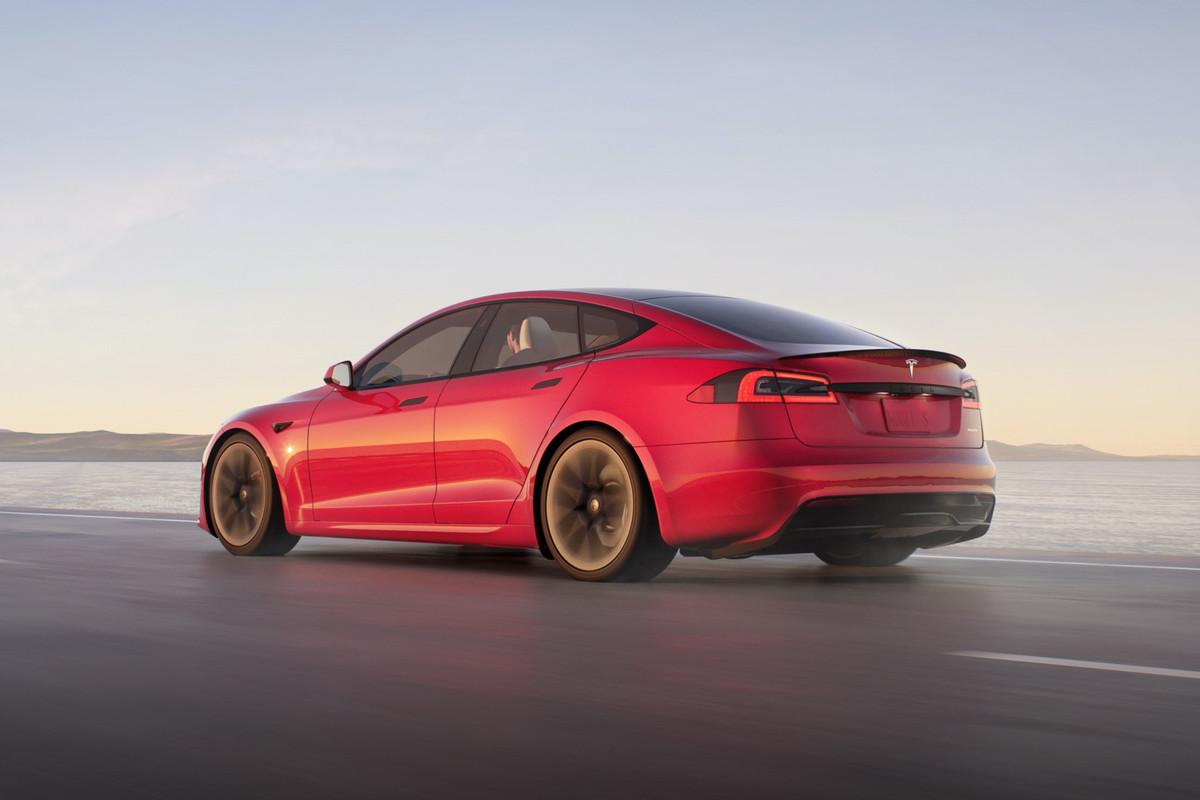 Tesla Model S redesign