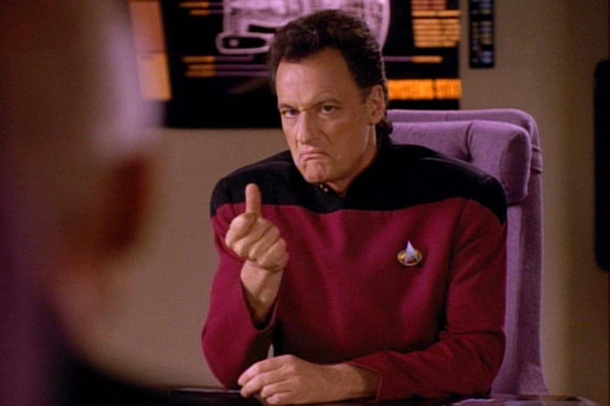 John De Lancie In 'Star Trek: The Next Generation'