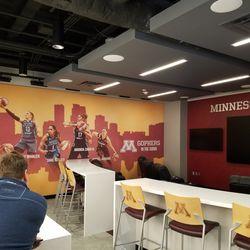 Women's BB Team Lounge