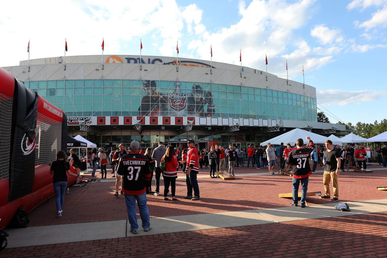 Boston Bruins v Carolina Hurricanes - Game Three