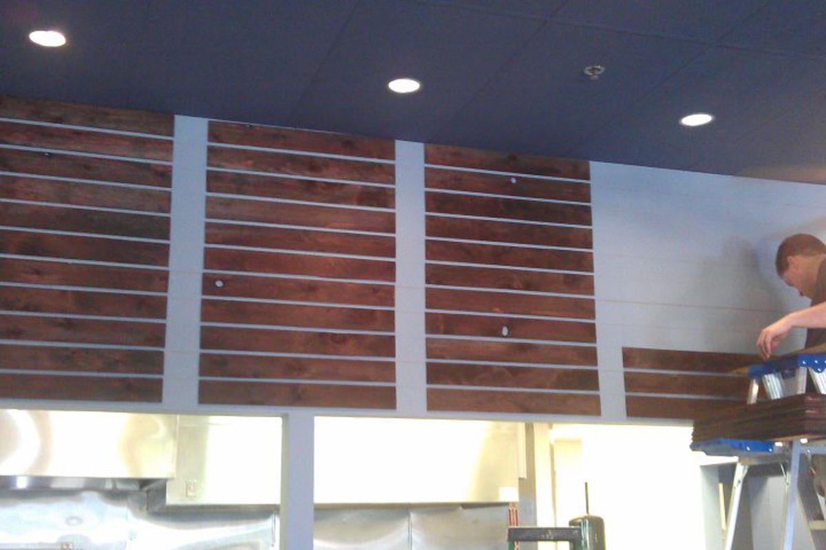 The menu board at Meat & Three