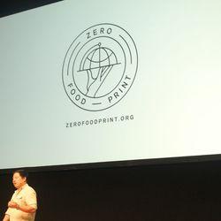 Chris Ying announces zerofoodprint.org