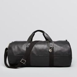 """<strong>John Varvatos</strong> Chelsea Leather Gym Bag in Black, <a href=""""http://www1.bloomingdales.com/shop/product/john-varvatos-chelsea-leather-gym-bag?ID=991514&CategoryID=1000059#fn=spp%3D87%26ppp%3D96%26sp%3DNull%26rid%3DNull"""">$295</a> at Bloomingda"""