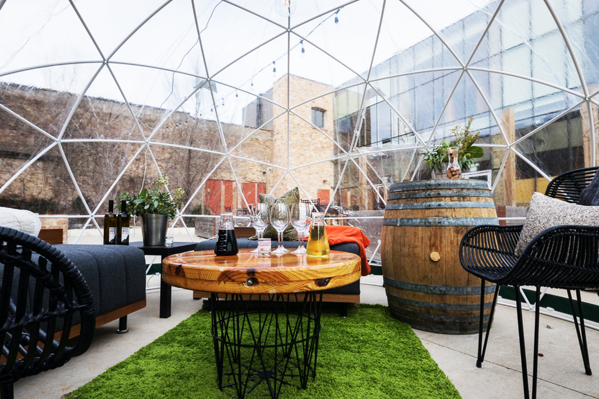 City Winery S New River Domes Mean No More Whining About