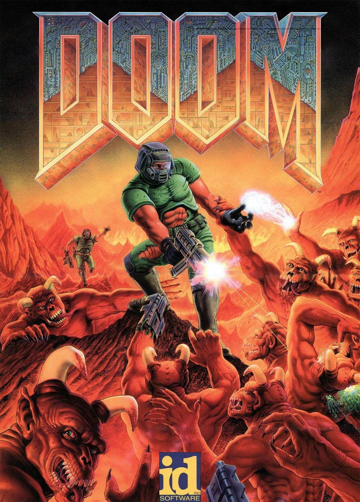 Doom classic box art