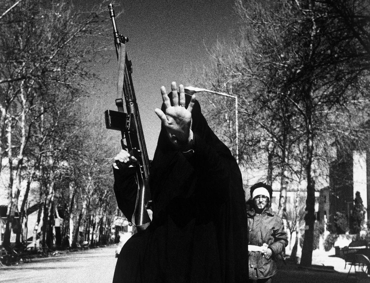 iran revolution woman