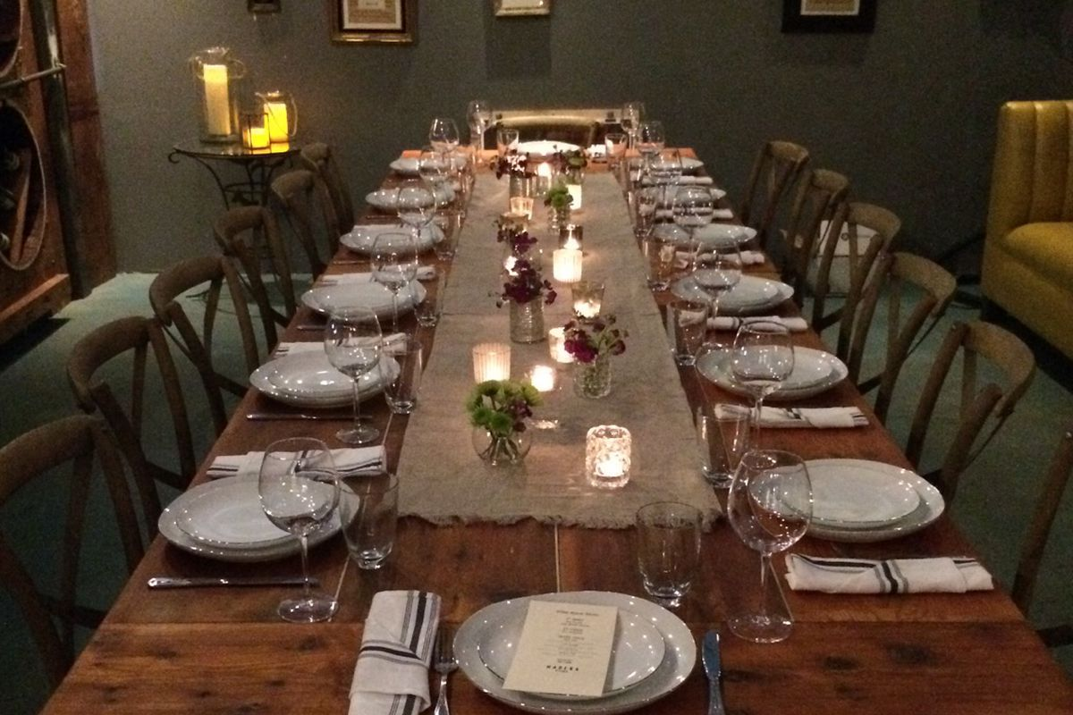 Hollywood\'s Madera Kitchen Opens Up Wine Room, Vegan Beer Fest ...