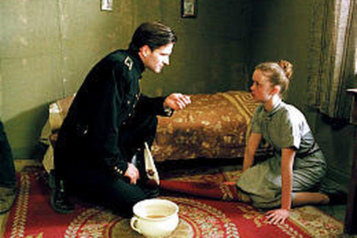 "Hilmir Snaer Gudnason and Ugla Egilsdottir in ""The Seagull's Laughter."""