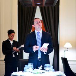 Nathaniel Dorn, the restaurant's general manager.
