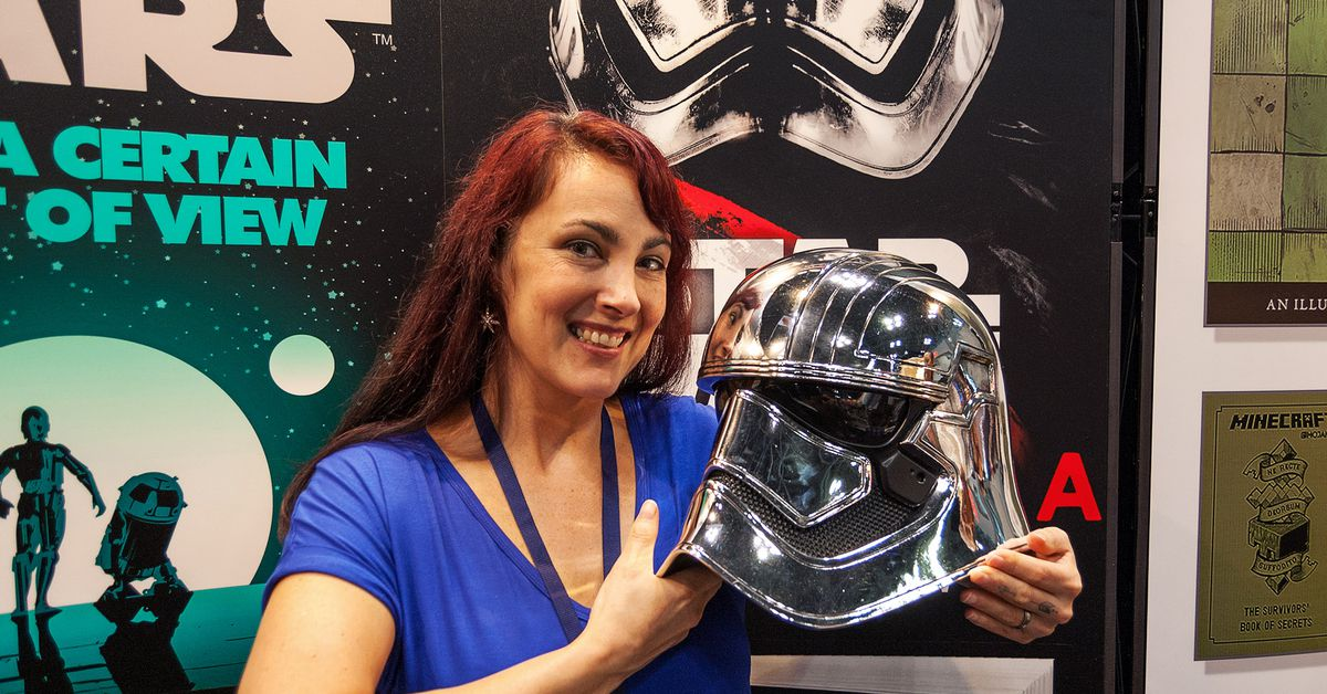 Author Delilah S. Dawson on creating Captain Phasma's backstory