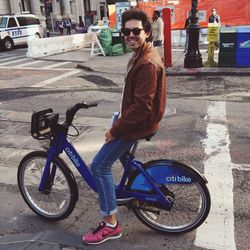On my way home I ran into my husband who recently signed up for <strong>CitiBike</strong>. He was never a big biker, especially in the city, but now he uses it all the time.
