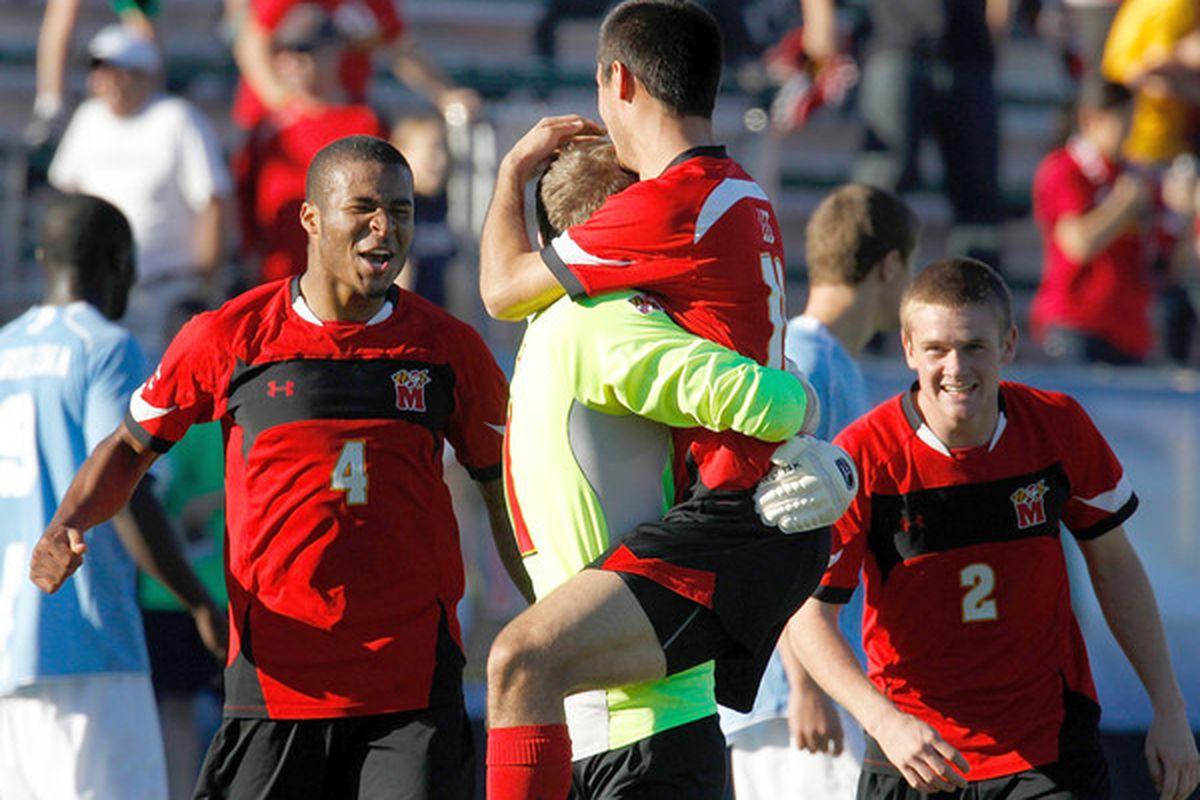 """Dynasty. Image via <a href=""""http://www.baltimoresun.com/sports/terps/bs-sp-maryland-soccer-1115-20101114,0,2477633.story"""">www.baltimoresun.com</a>"""