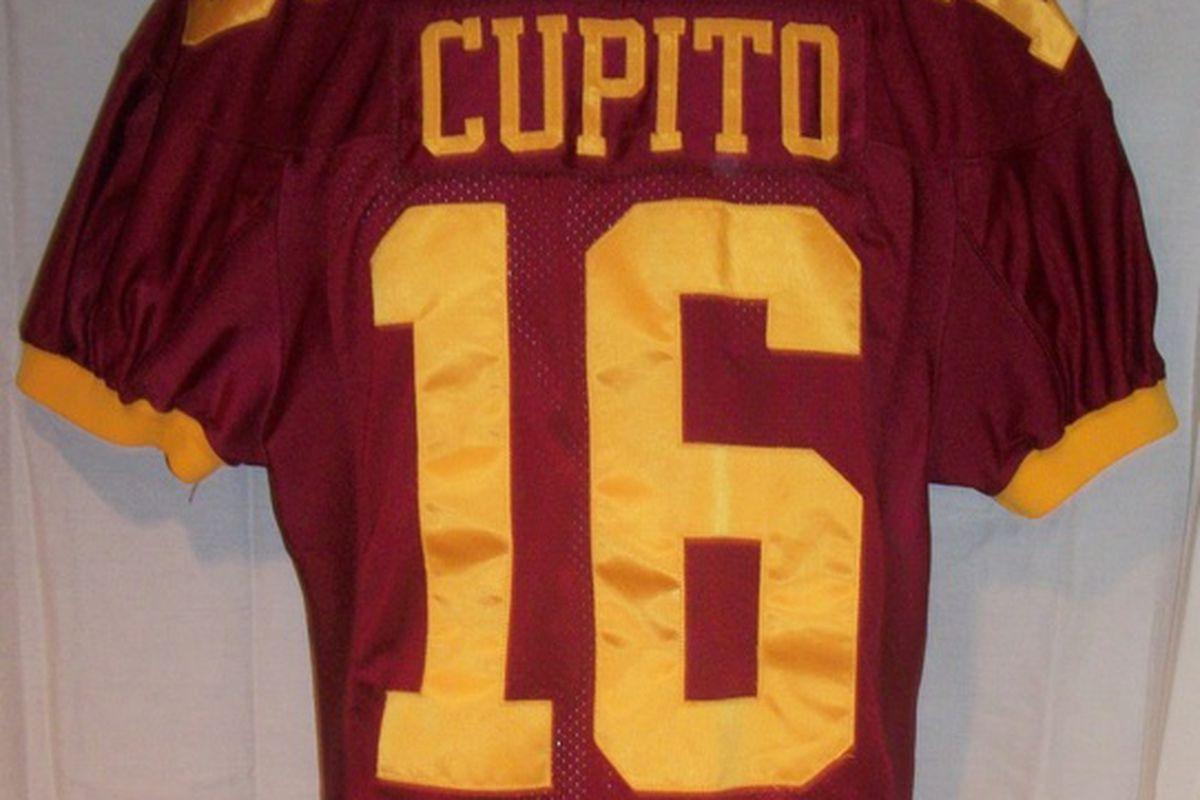 CUPITOOOOO! His 2002 jersey from the Music City Bowl