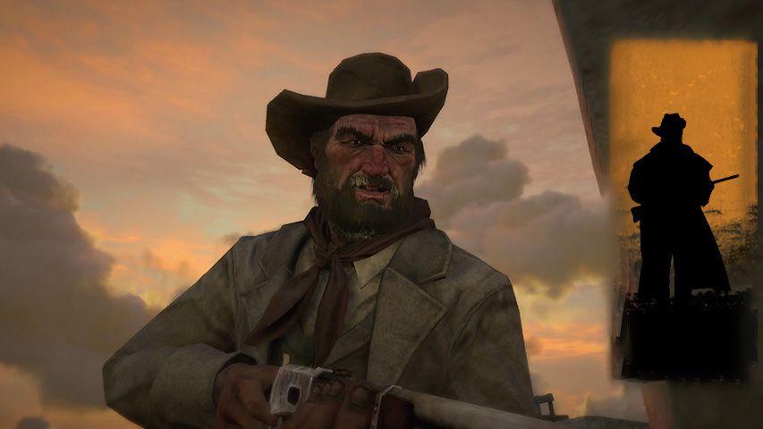 Red Dead Redemption teaser - Bill Williamson comparison shot