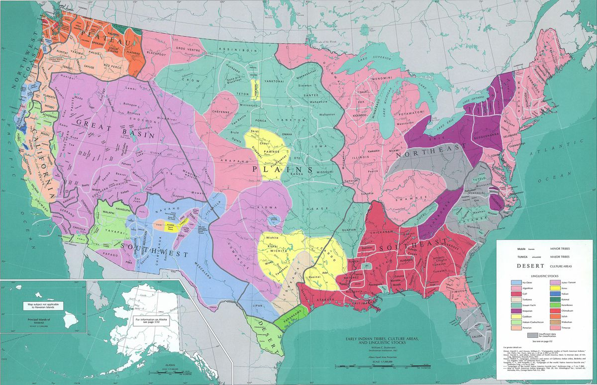 What the US would look like today if colonists had never come (or something like that)