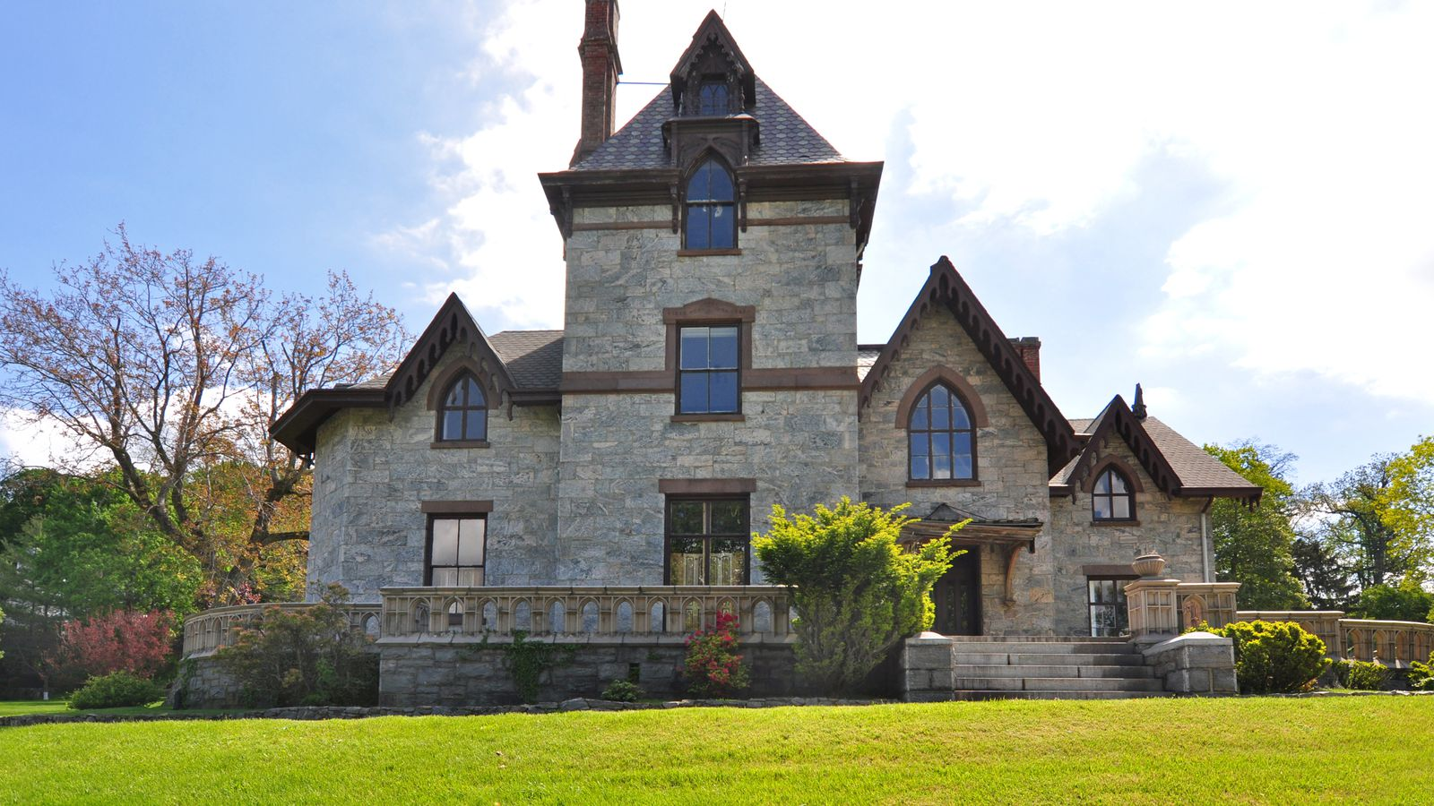 Gothic revival is an impressive fixer upper for 2m for Gothic revival homes for sale