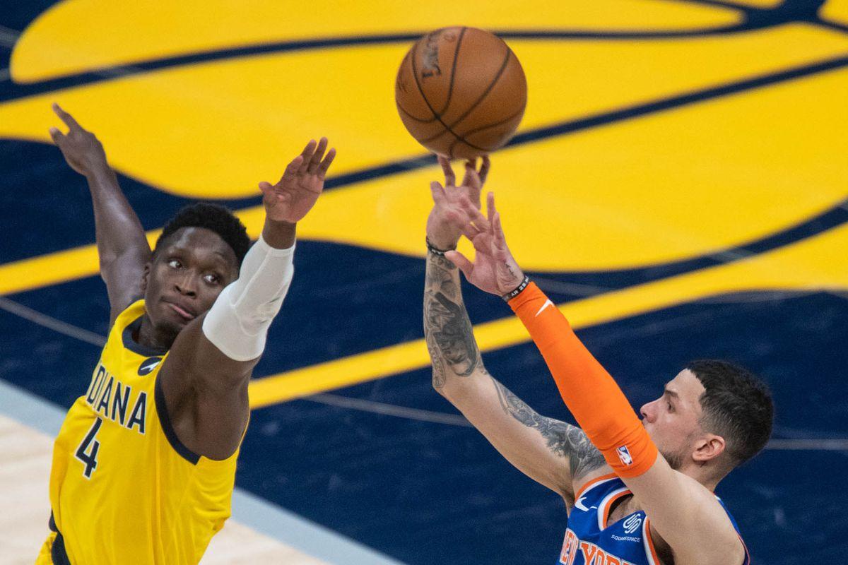 NBA: New York Knicks at Indiana Pacers