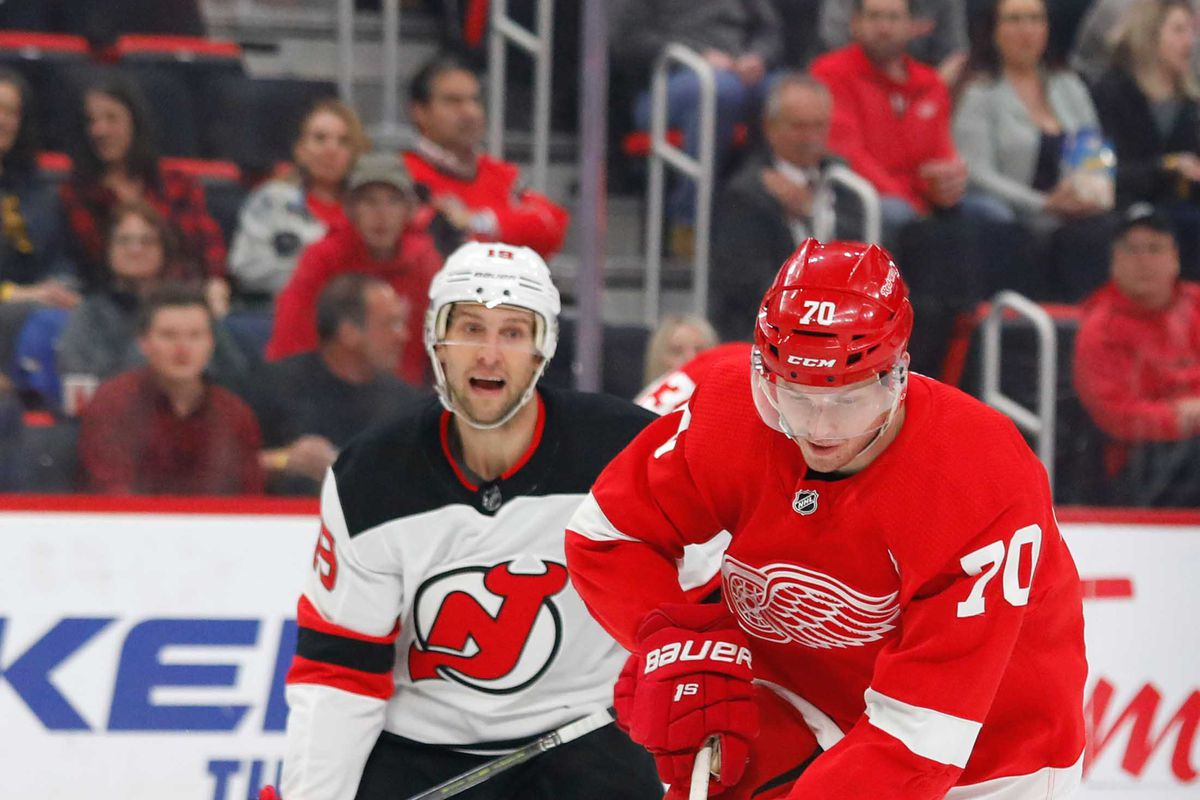 official photos a0db4 8b644 Tank U, Next: New Jersey Devils Shutout by Detroit Red Wings ...