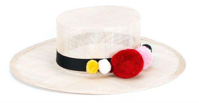 Pom Pom Trim Hat
