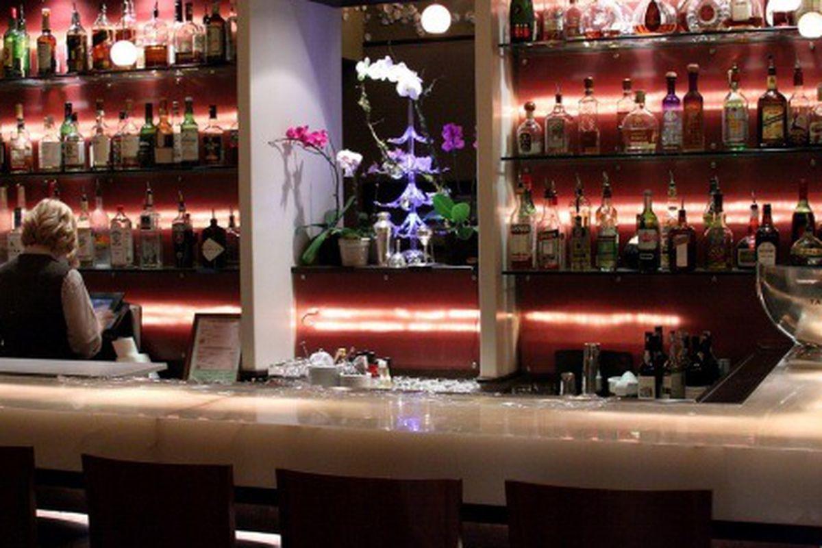 The bar at Providence.